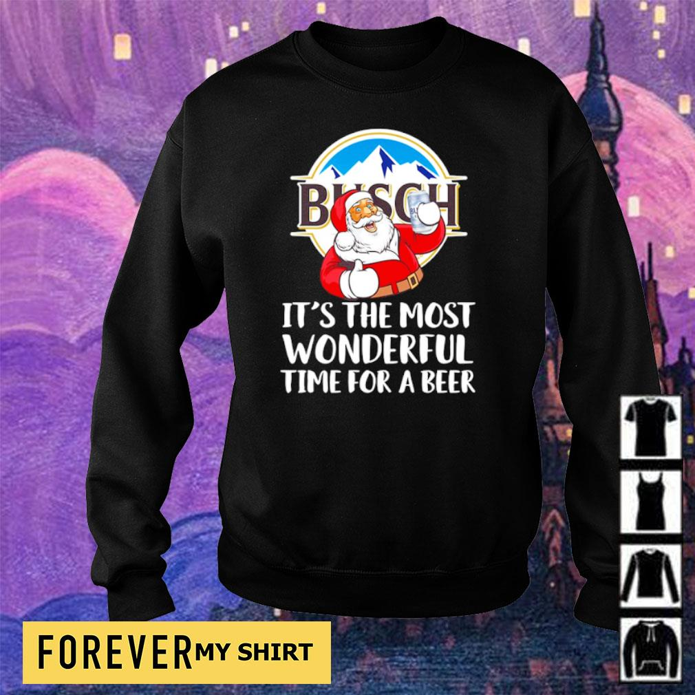 Busch Light it's the most wonderful time for a beer s sweater