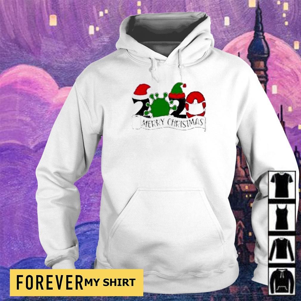 Covid 19 2020 merry Christmas sweater hoodie