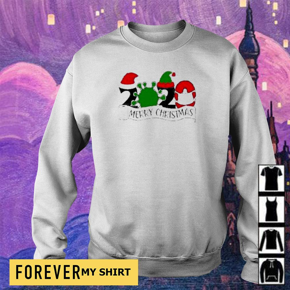 Covid 19 2020 merry Christmas sweater
