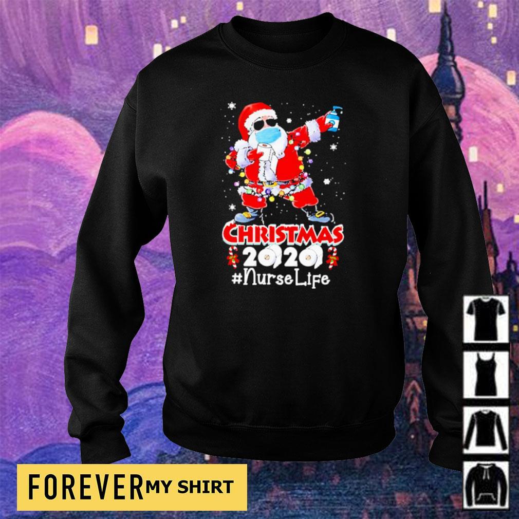 Dabbing Santa Claus Christmas 2020 nurselife sweater