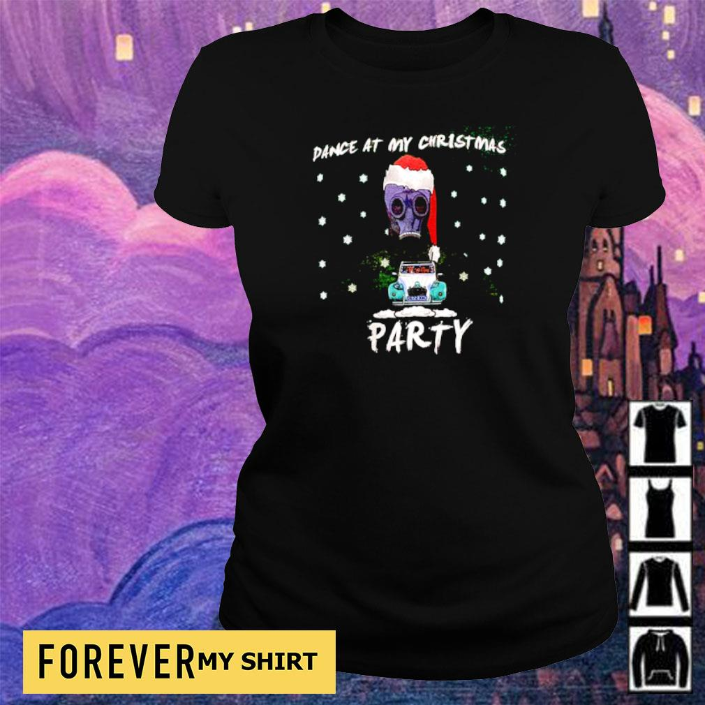 Dance at my Christmas party sweater ladies tee
