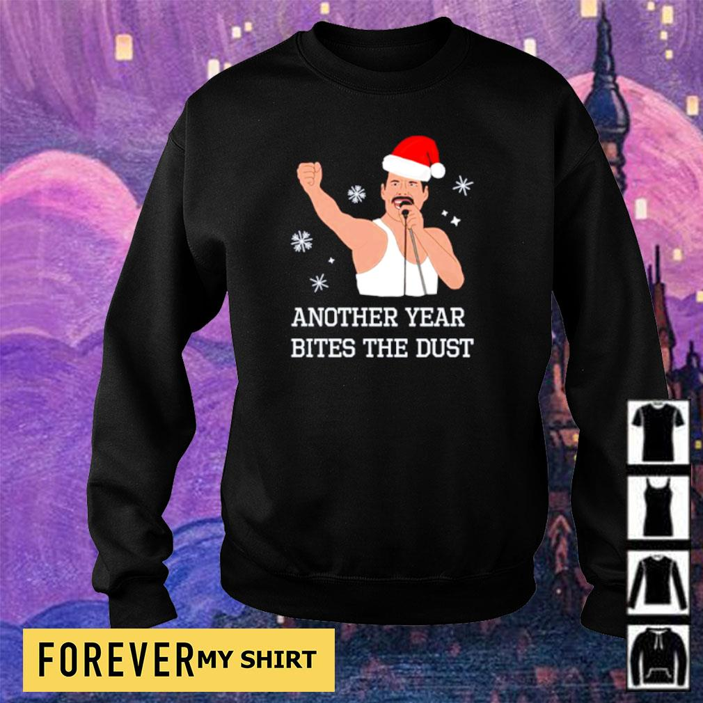 Freddie Mercury another year bites the dust hapyy Christmas sweater sweater