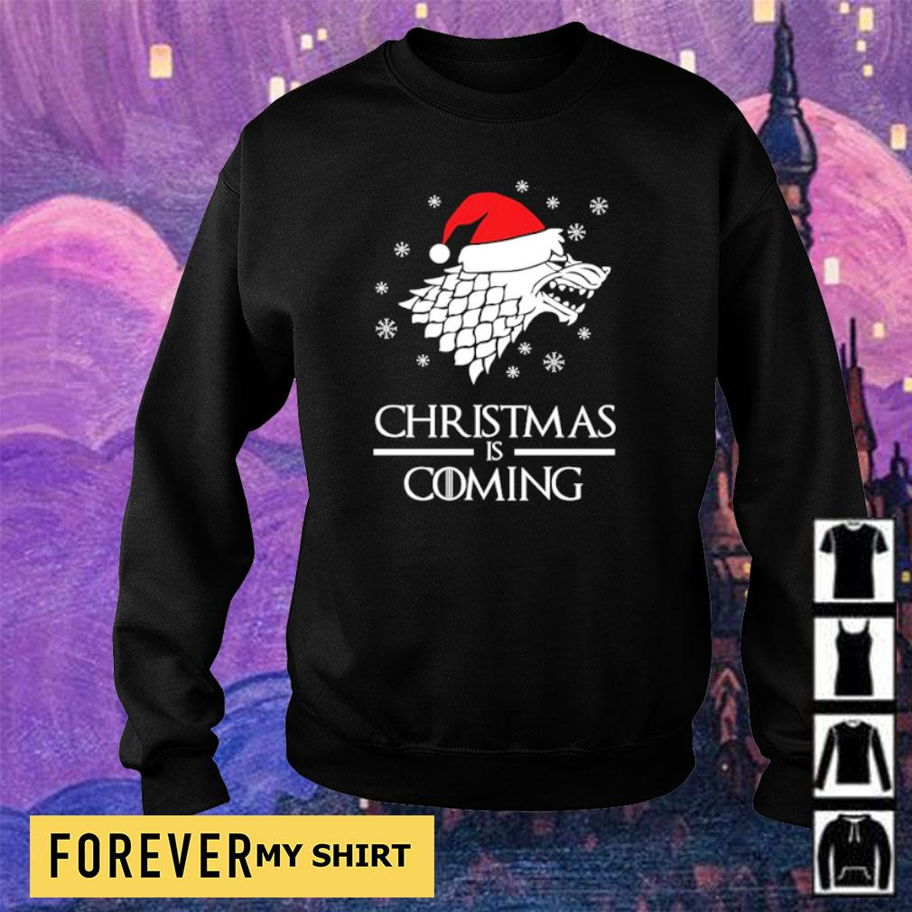 Game of Thrones Christmas is coming sweater