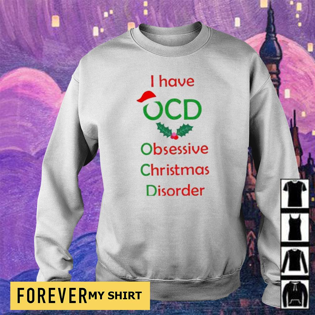 I have OCD obsessive camping disorder Christmas s sweater