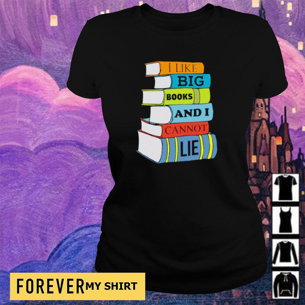 I like books and I cannot lie s ladies tee