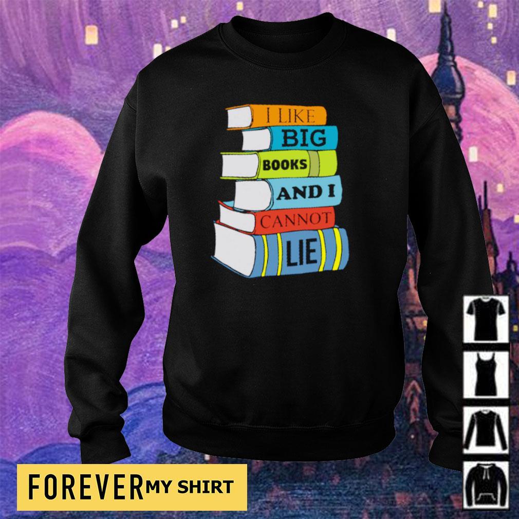 I like books and I cannot lie s sweater