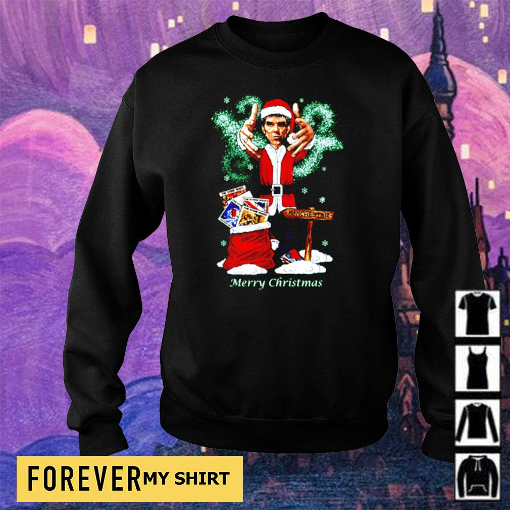 Ian Brown merry Christmas jumper sweater