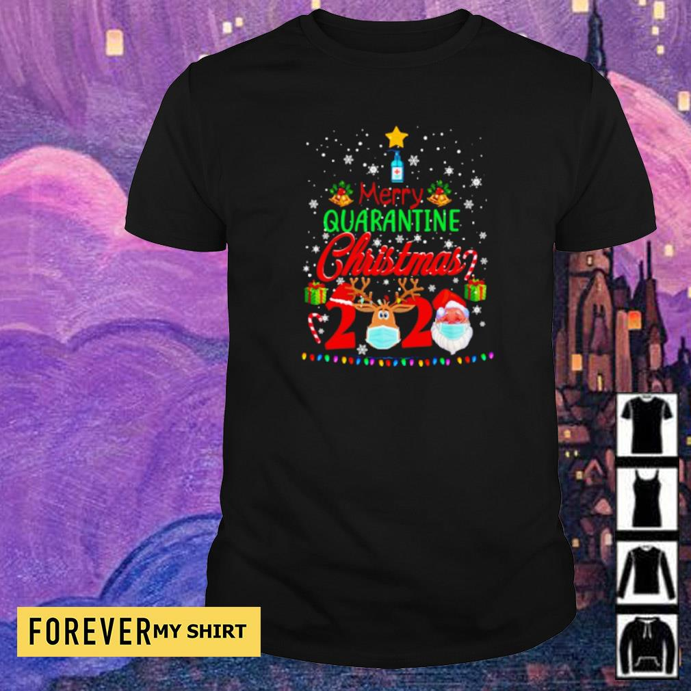 Merry quarantine Christmas 2020 sweater shirt