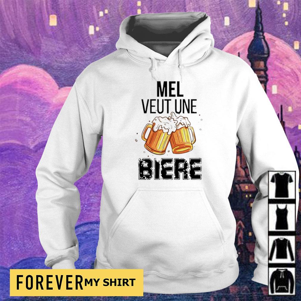 Official mel veut une biere s hoodie
