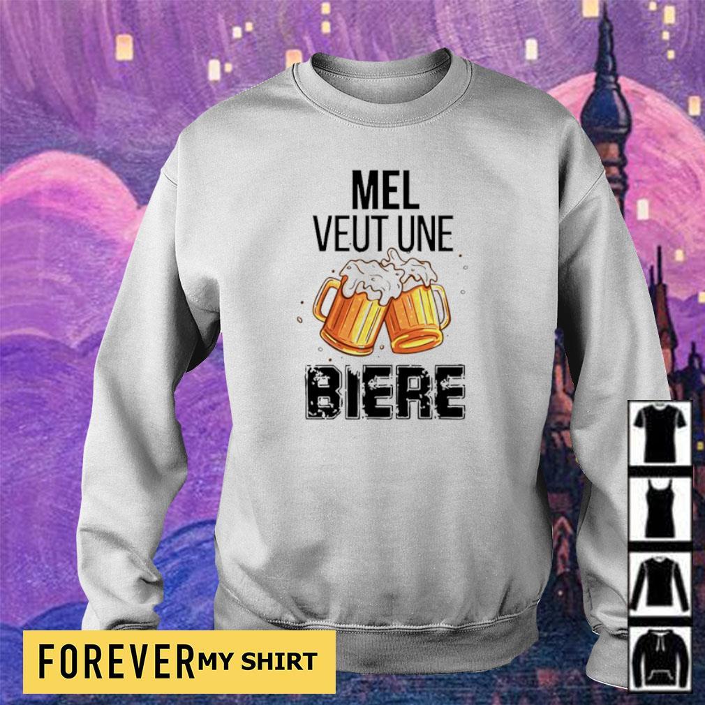 Official mel veut une biere s sweater