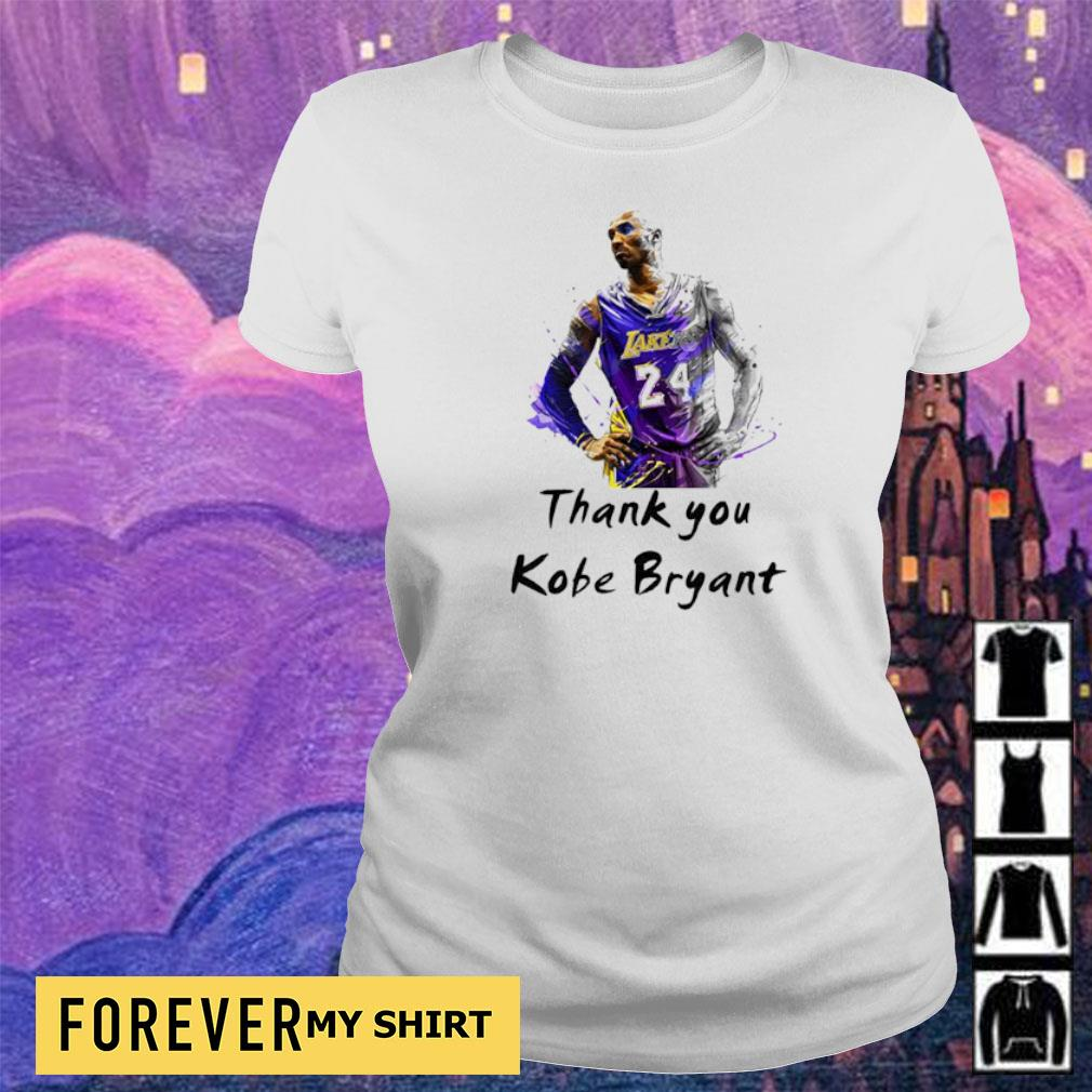 Official RIP Kobe Bryant thank you s ladies