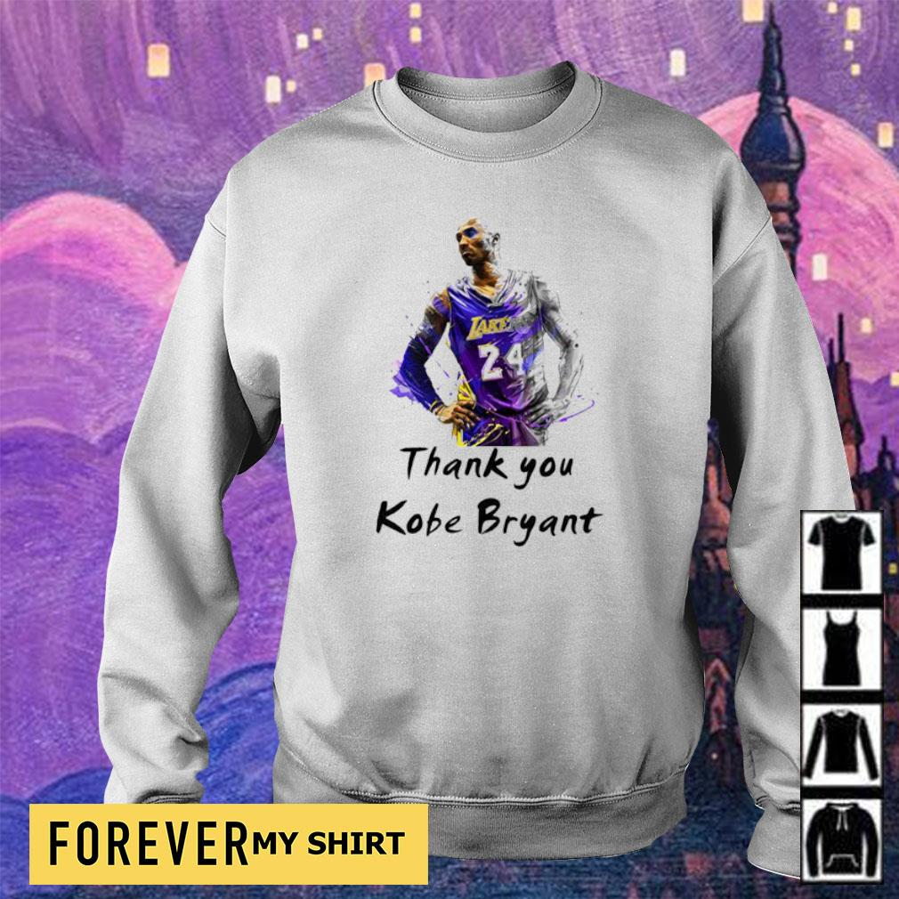 Official RIP Kobe Bryant thank you s sweater