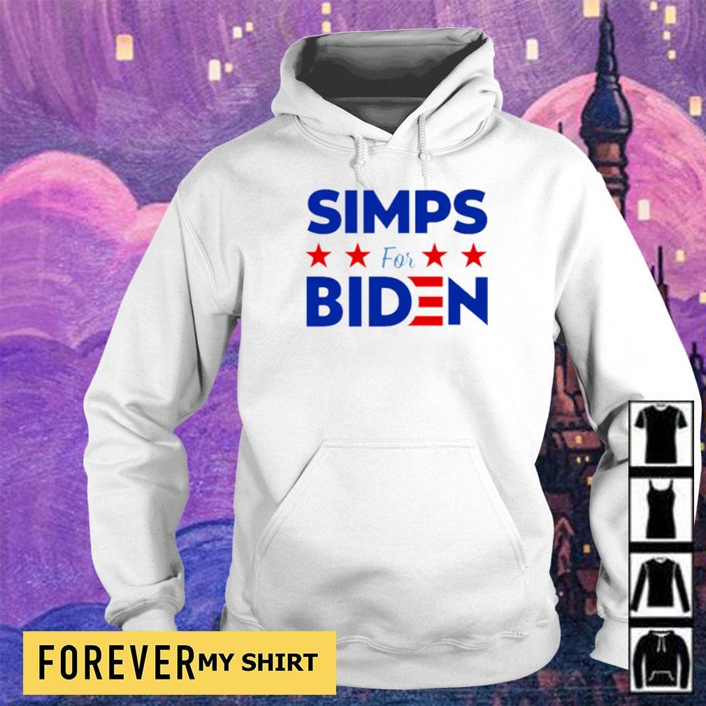 Simps for Biden 2020 s hoodie