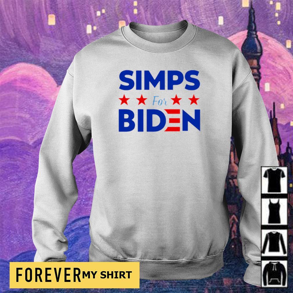Simps for Biden 2020 s sweater