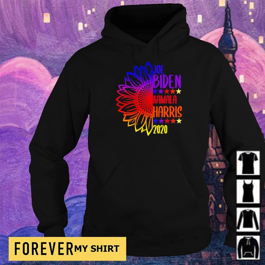 Sunflower Joe Biden and Kamala Harris 2020 s hoodie