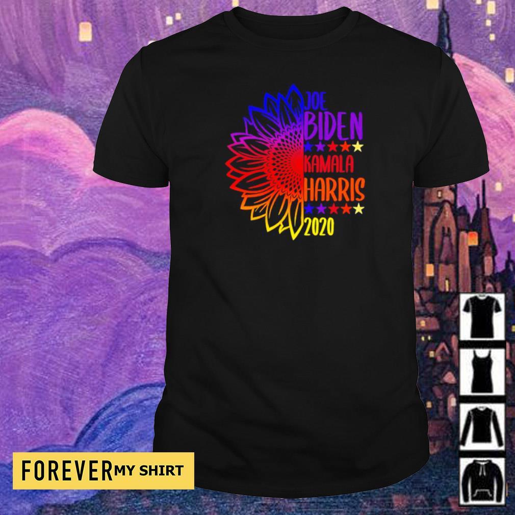 Sunflower Joe Biden and Kamala Harris 2020 shirt