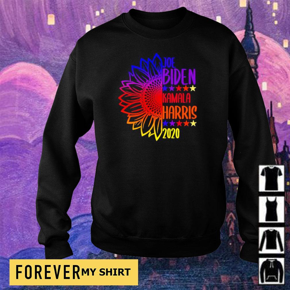Sunflower Joe Biden and Kamala Harris 2020 s sweater