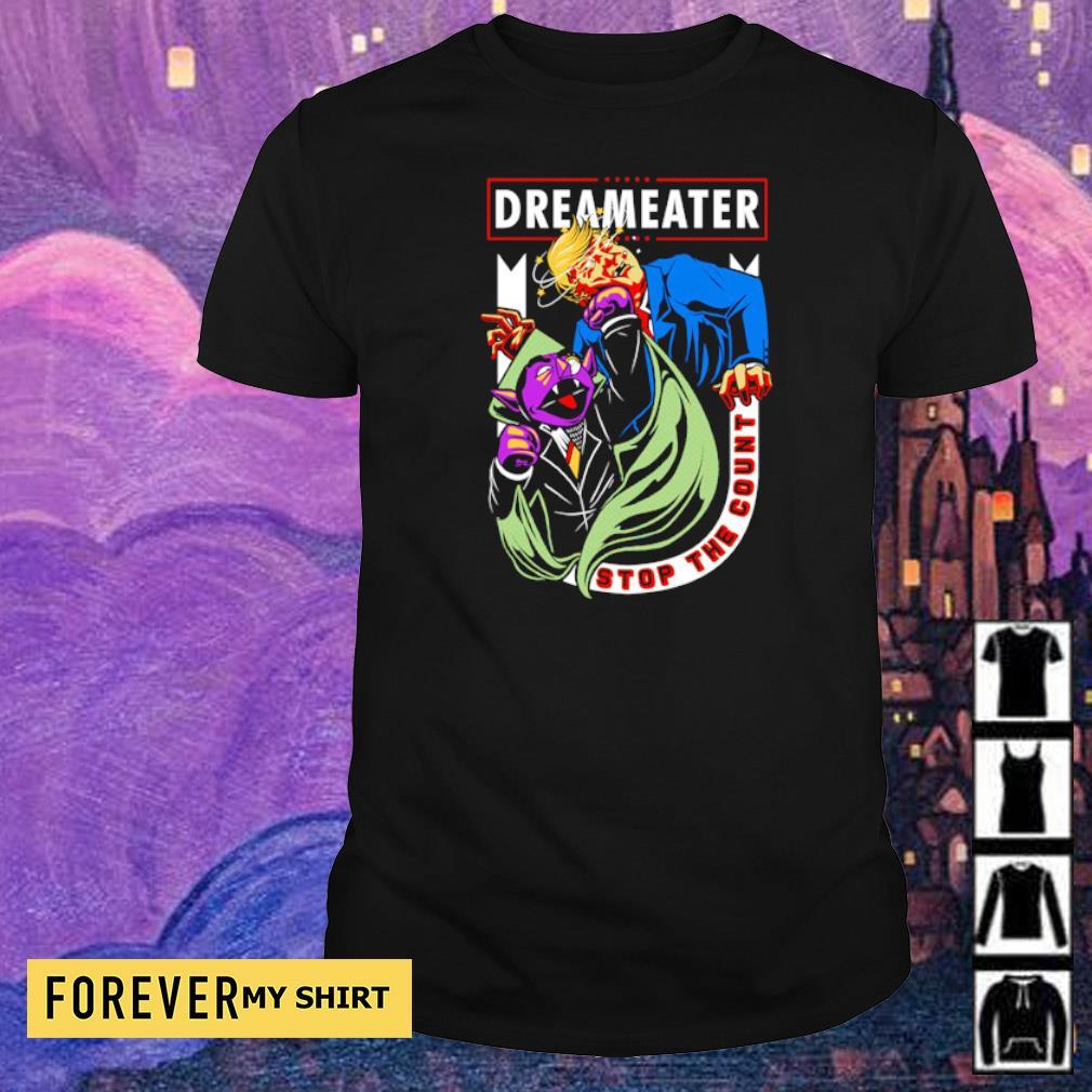 Trump vs Biden dreameater stop the count shirt