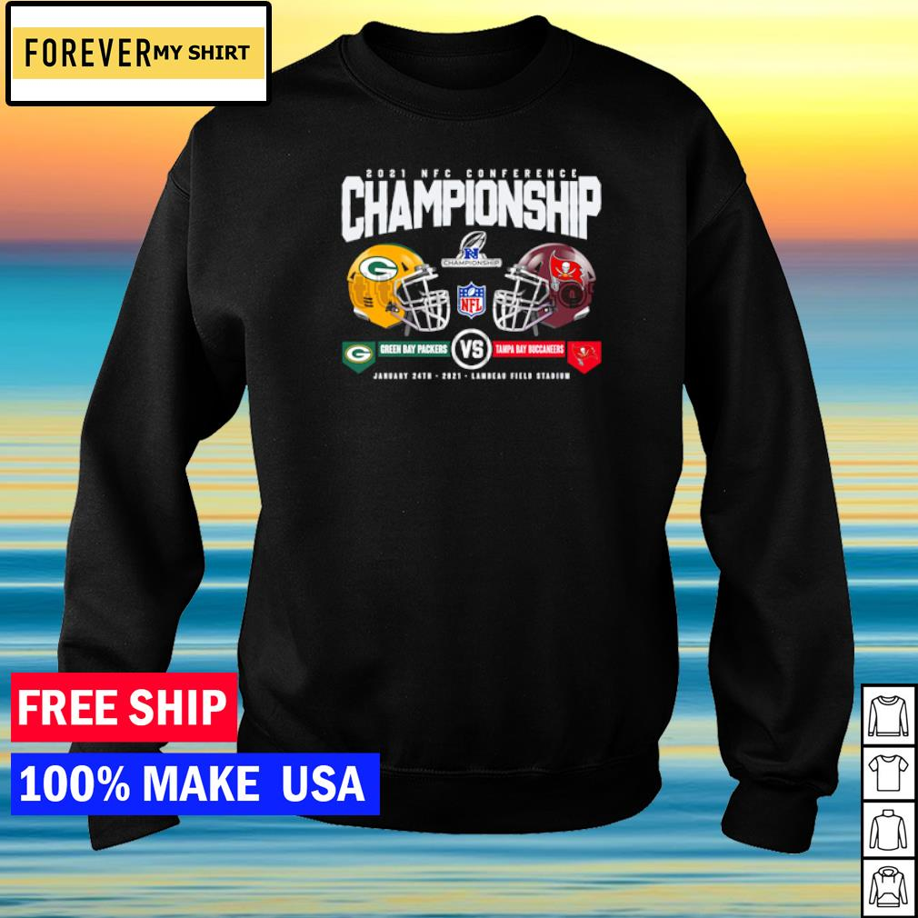 2021 NFC Conference Championship Green Bay Packers vs Tampa Bay Buccaneers s sweater