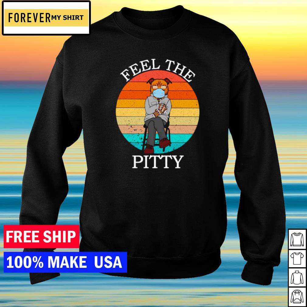 Bernie Sanders Pitbull fell the pitty vintage s sweater