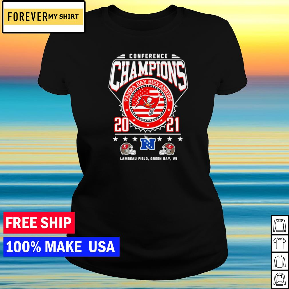 Conference Champions Tampa Bay Buccaneers 2021 s ladies tee