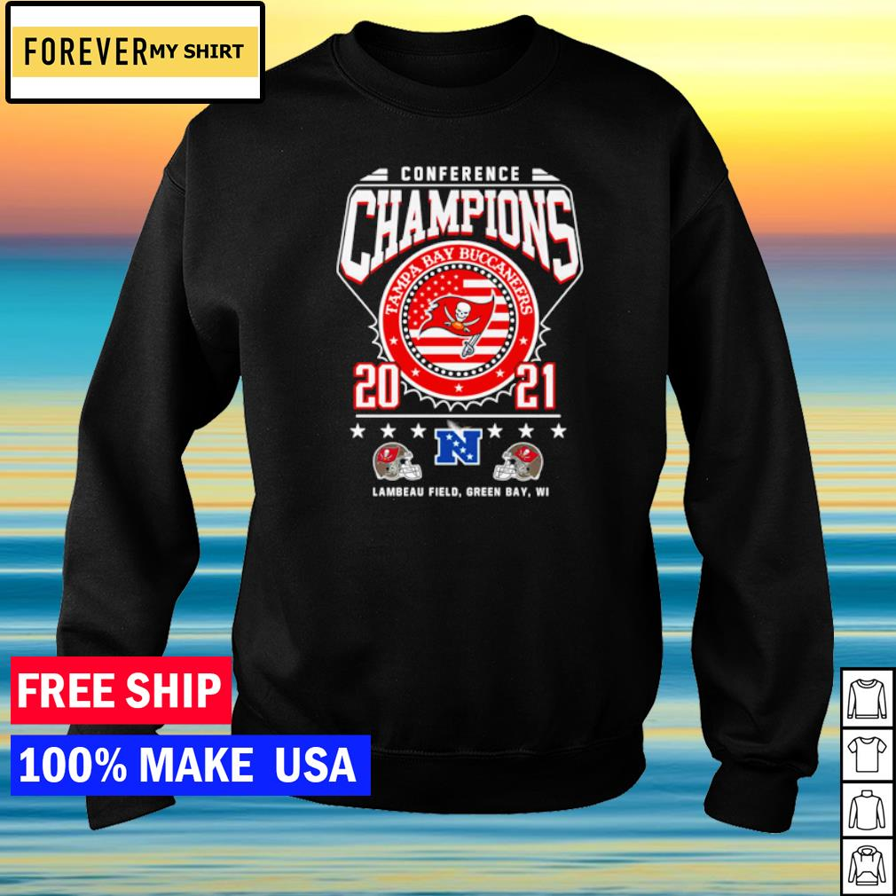 Conference Champions Tampa Bay Buccaneers 2021 s sweater