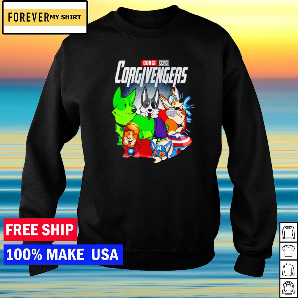 Corgi Corgi Corgivengers s sweater