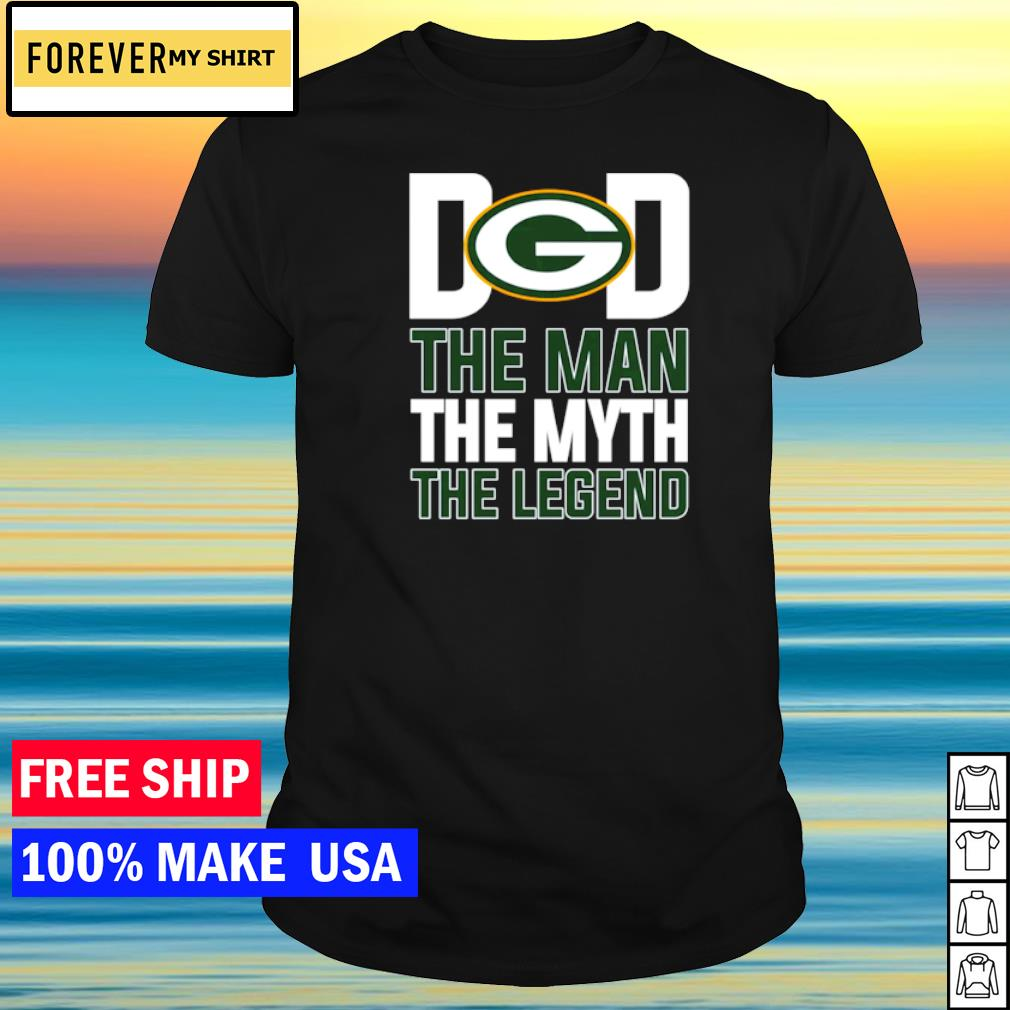Green Bay Packers Dad the man the myth the legend shirt