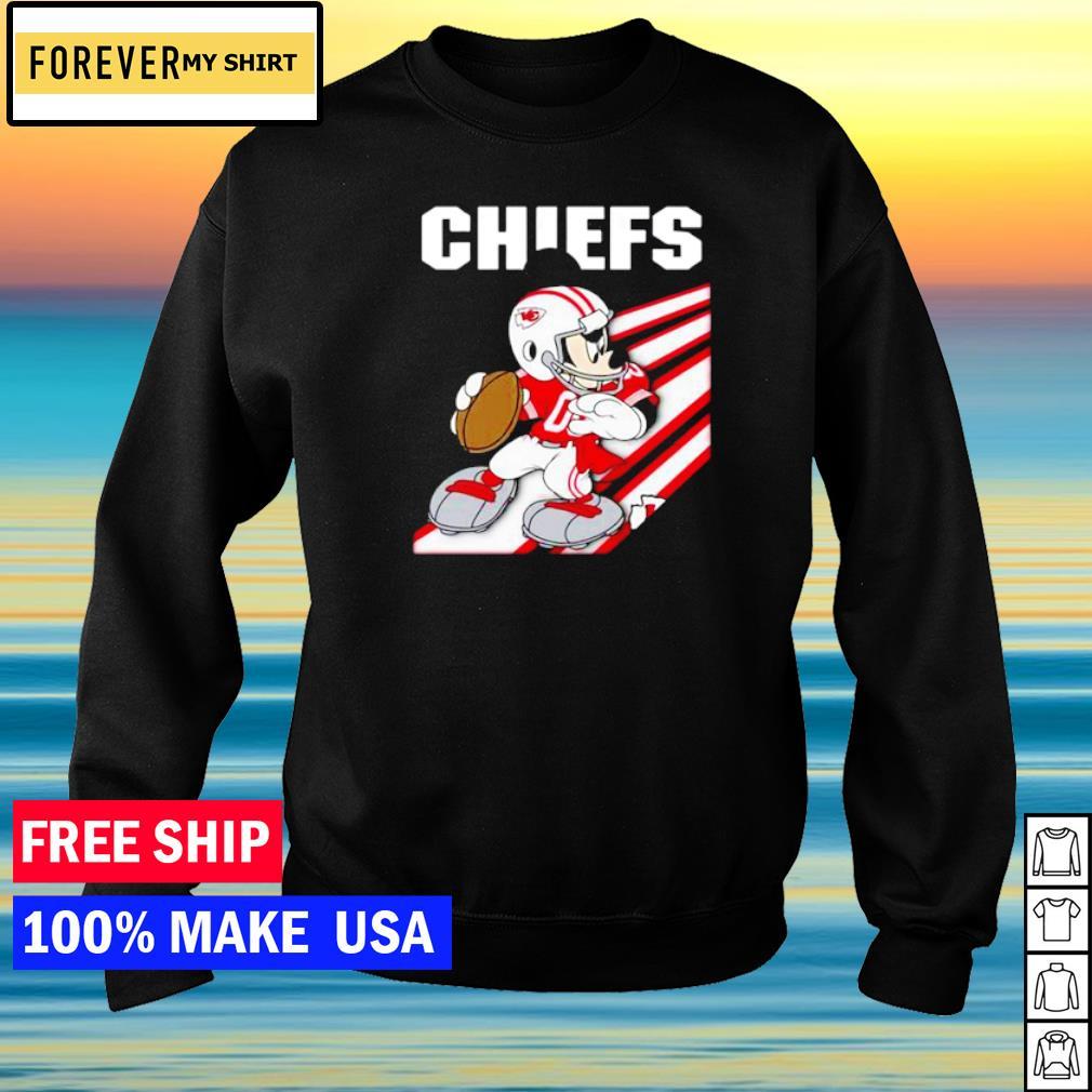 Kansas City Chiefs Mickey Mouse play football s sweater