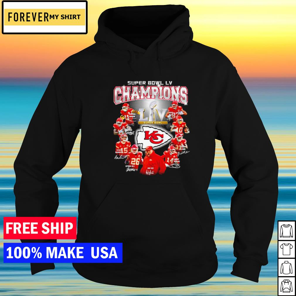 Kansas City Chiefs Super Bowl LV Champions s hoodie