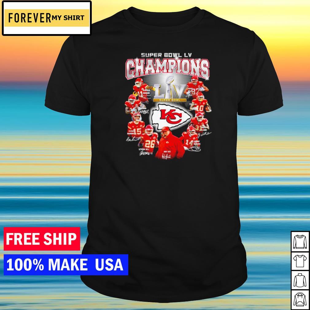Kansas City Chiefs Super Bowl LV Champions shirt