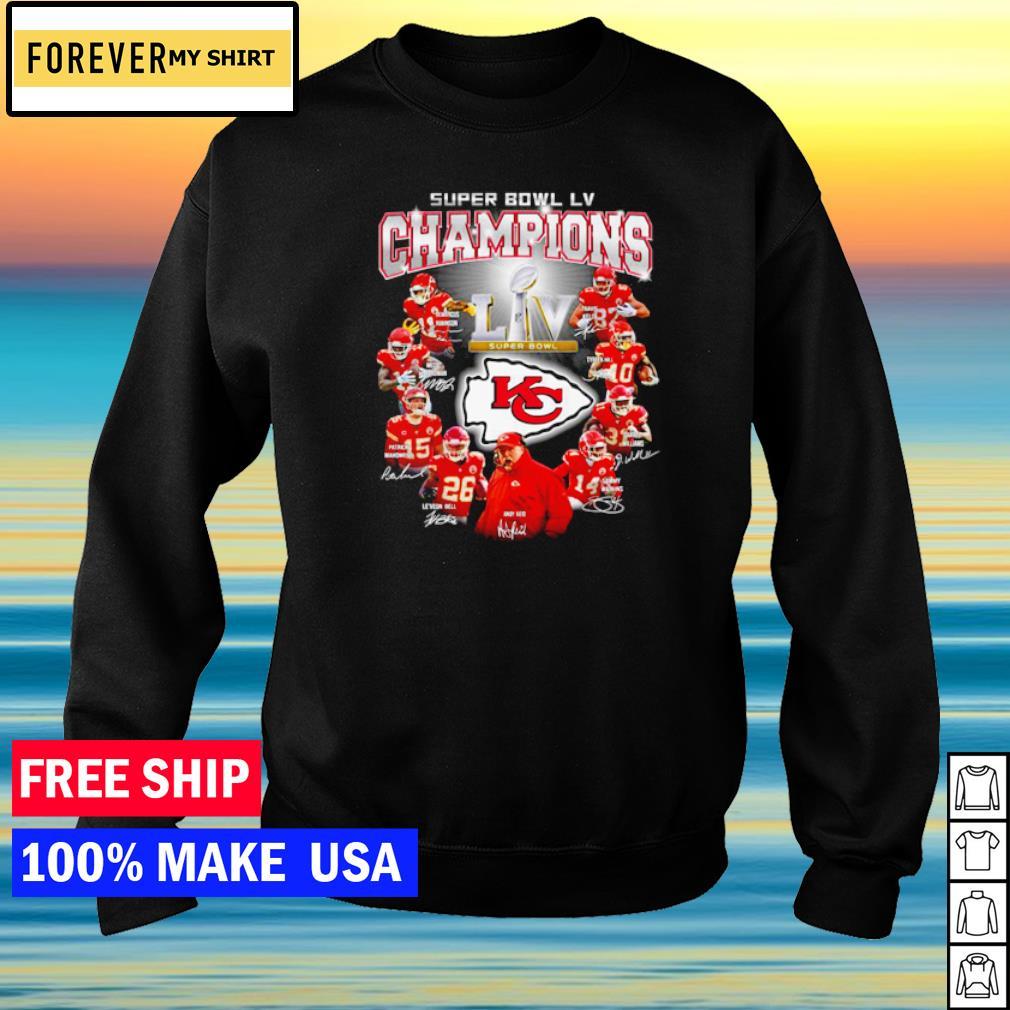 Kansas City Chiefs Super Bowl LV Champions s sweater