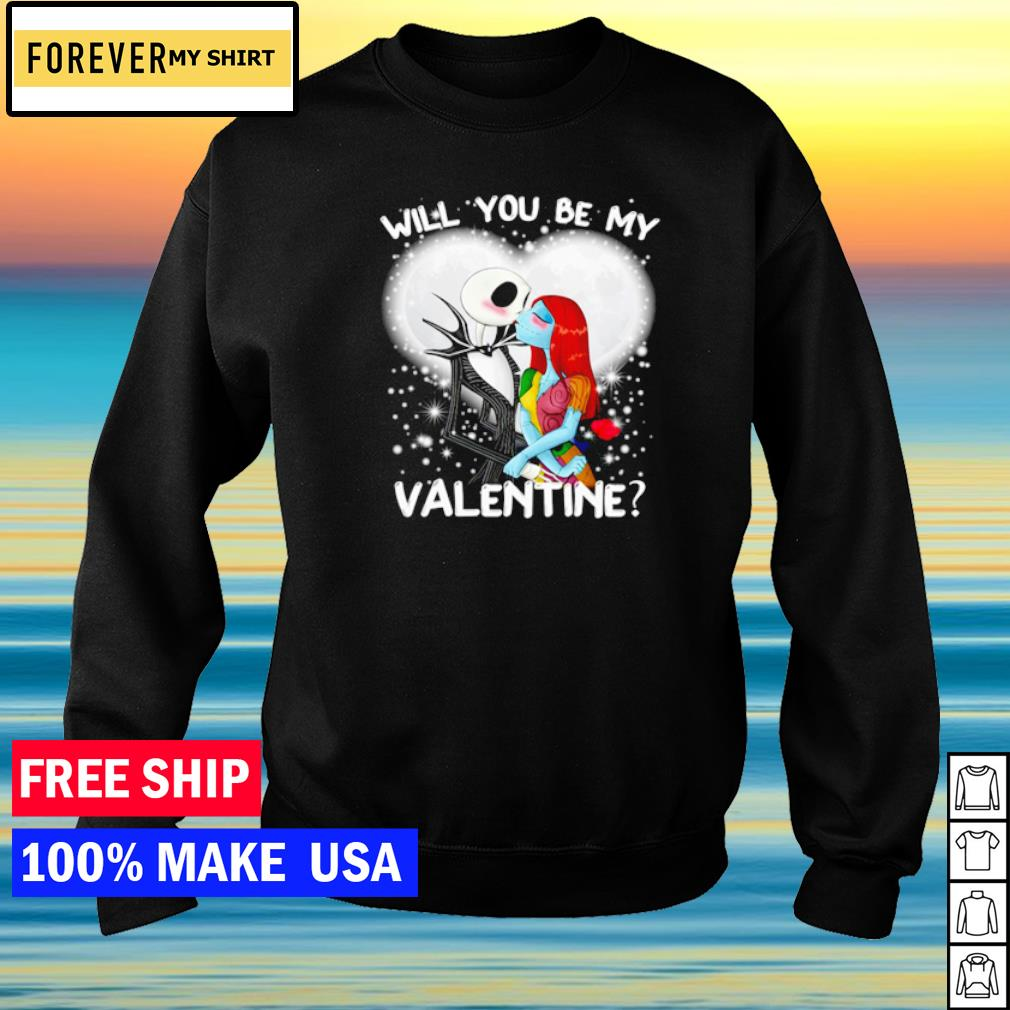 Loving Jack and Sally will you be my Valentine s sweater