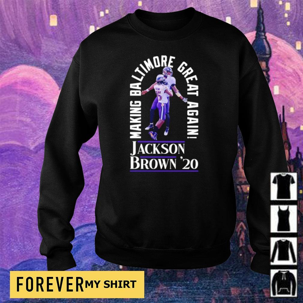 Making Baltimore great again Jackson Brown' 20 s sweater