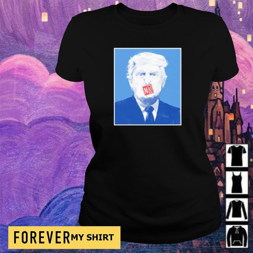 Official Donald Trump art 2021 s ladies tee