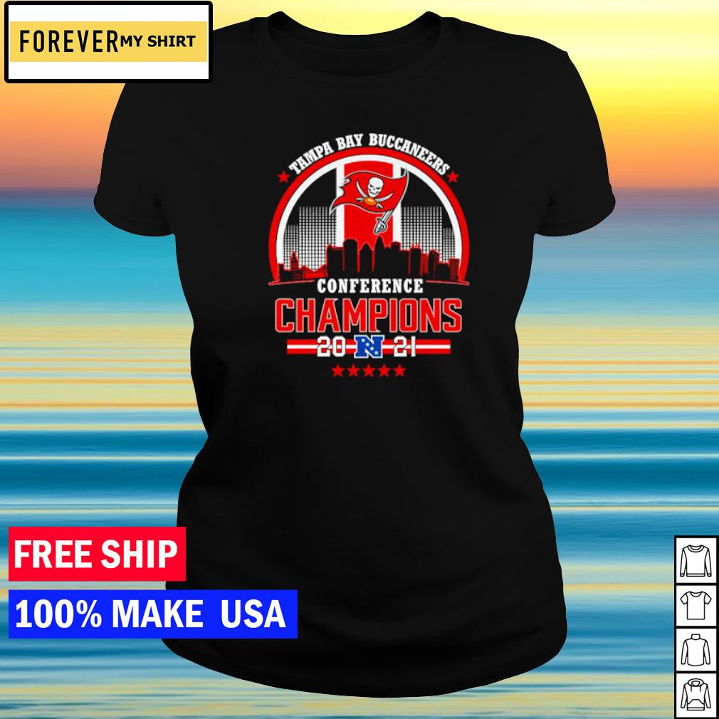 Tampa Bay Buccaneers Conference Champions 2021 s ladies tee