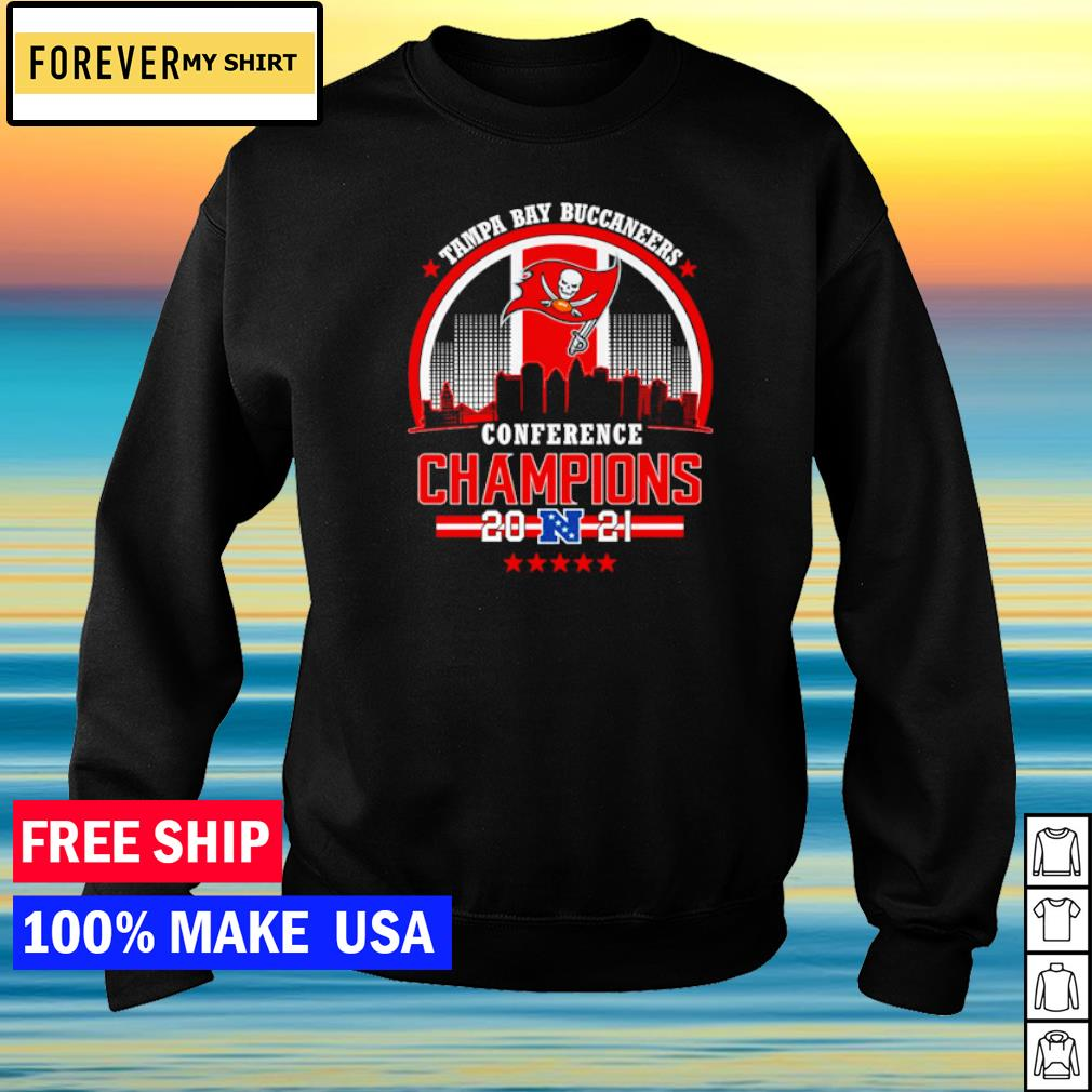 Tampa Bay Buccaneers Conference Champions 2021 s sweater