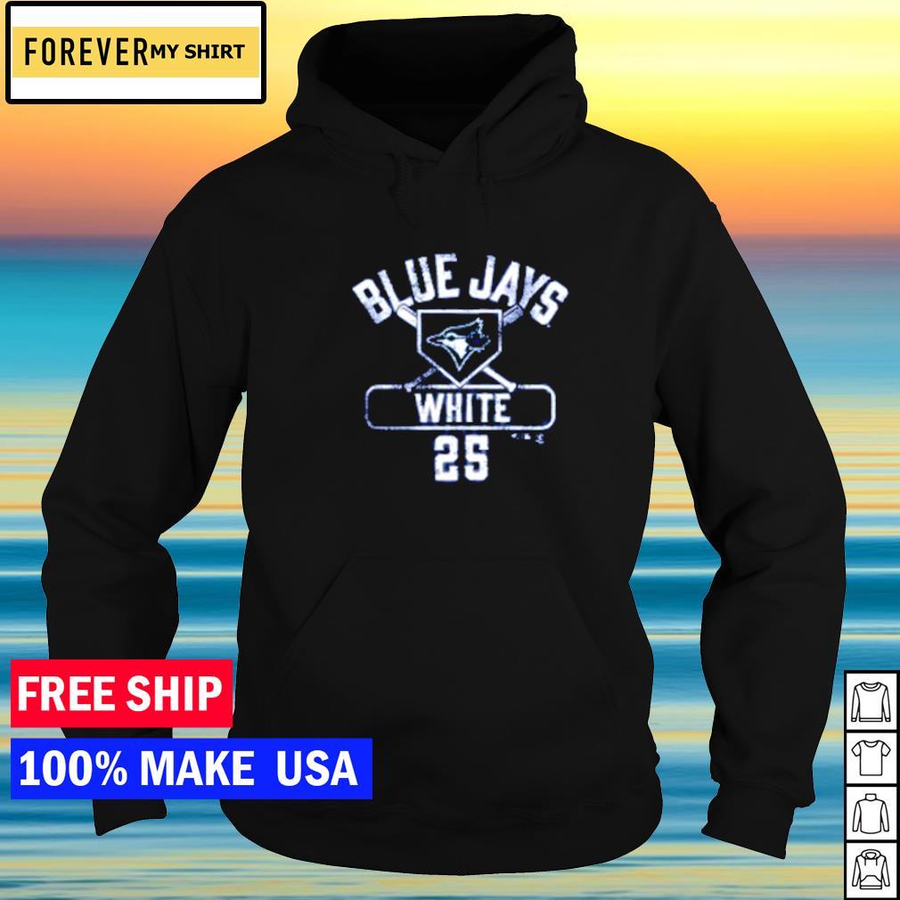 Toronto Blue Jays Devon White number 25 s hoodie