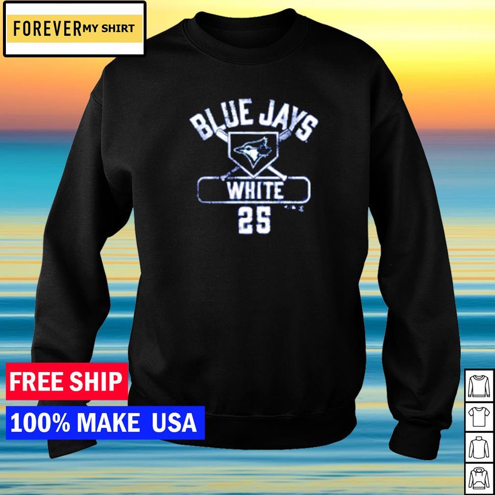 Toronto Blue Jays Devon White number 25 s sweater