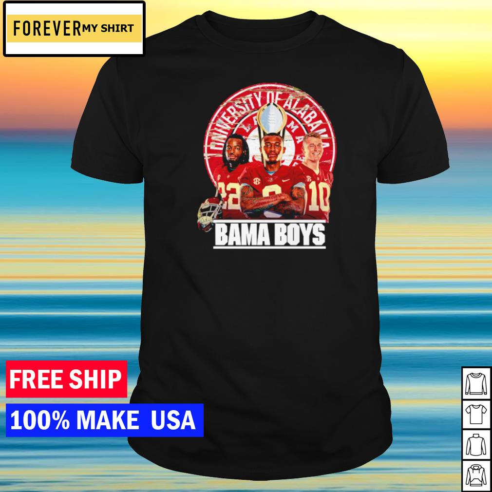 University of Alabama Crimson Tide Bama Boys shirt