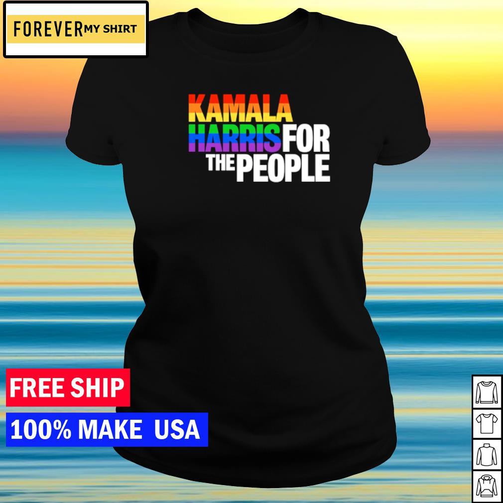 Vice President Kamala Harris for the people LGBT s ladies tee