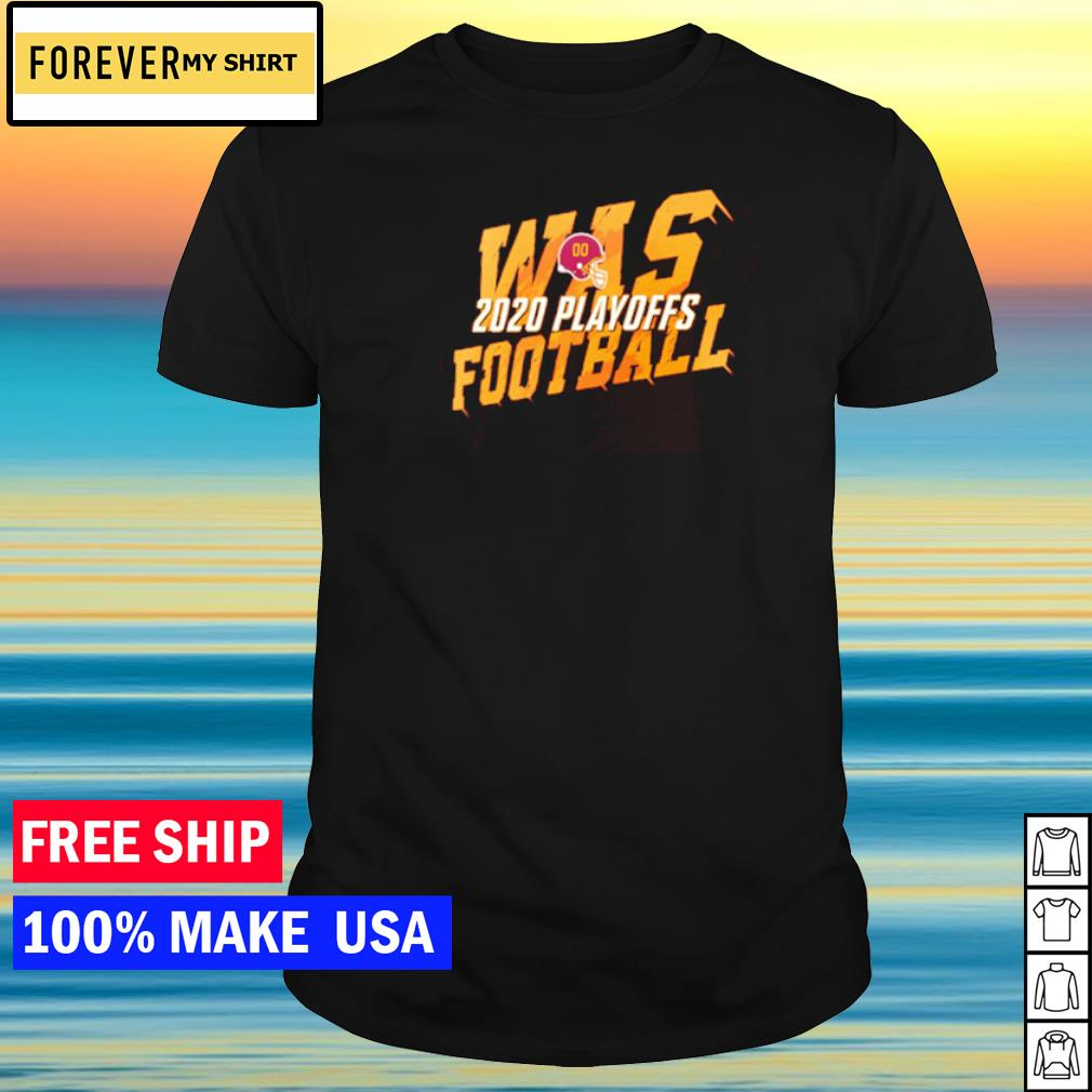 Washington Football WAS 2020 playoff shirt